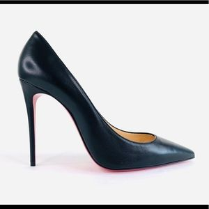 Christian Louboutin Kate Black Nappa Leather Pumps